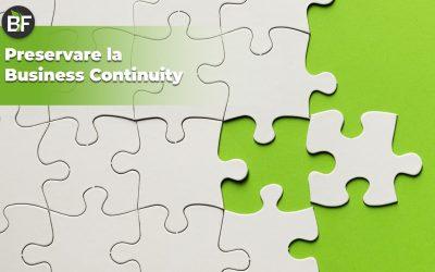 Business Continuity: cos'è e perché e fondamentale anche per una piccola PMI
