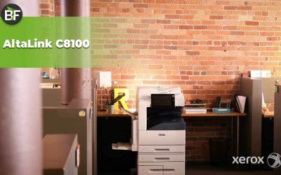 Xerox presenta le nuove AltaLink serie C8100: più che semplici multifunzione!